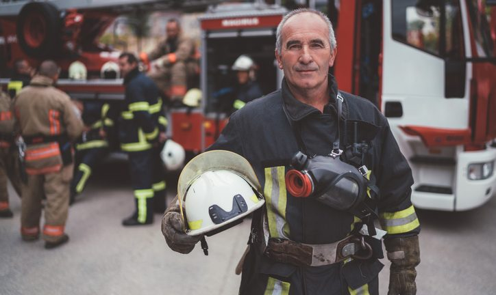 Retiring firefighter researching the retired public safety officer tax exclusion