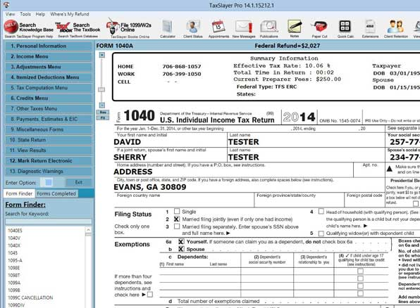 TheTaxBook Screen Shot